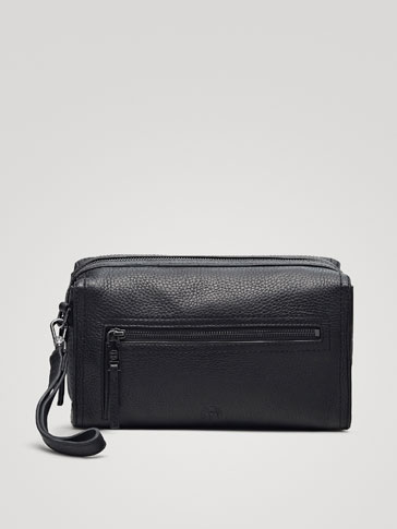 MONTANA LEATHER TOILETRY BAG