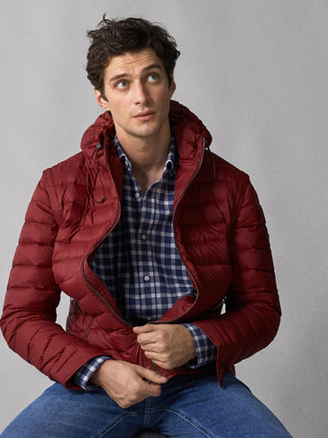 DOWN PUFFER JACKET WITH DETACHABLE SLEEVES