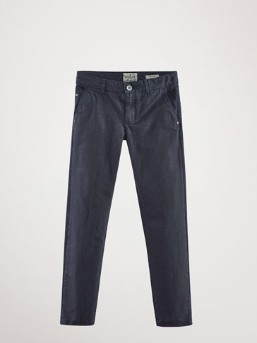 PANTALONI TIPO DENIM REGULAR FIT