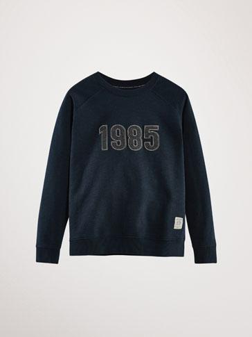 1985 COTTON SWEATSHIRT