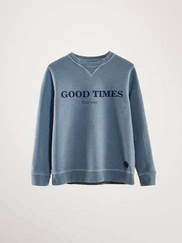 GOOD TIMES COTTON SWEATSHIRT