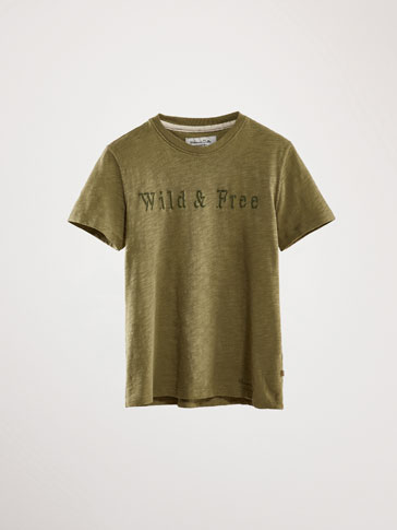 WILD&FREE COTTON T-SHIRT