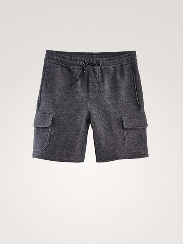 COTTON CARGO BERMUDA SHORTS