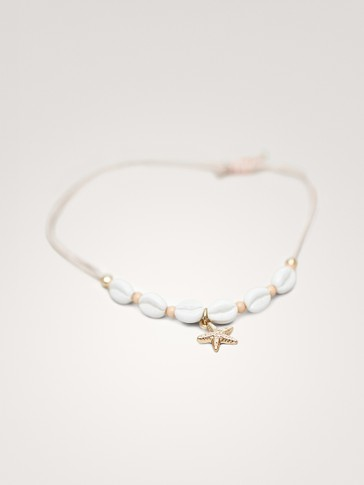 SEASHELL AND STARFISH BRACELET