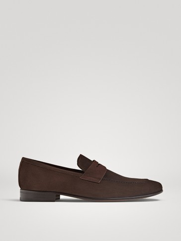 LIMITED EDITION BROWN LEATHER LOAFERS