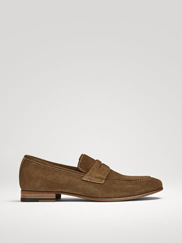 LIMITED EDITION TAN LEATHER LOAFERS