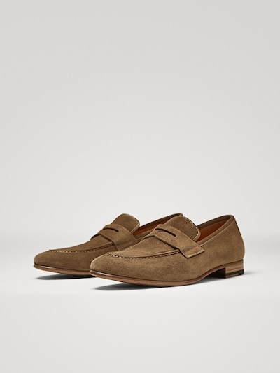 2e9c0fce7be LIMITED EDITION CAMEL LEATHER LOAFERS