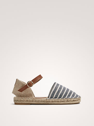 STRIPED D'ORSAY ESPADRILLES