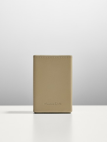 Leather perfume case