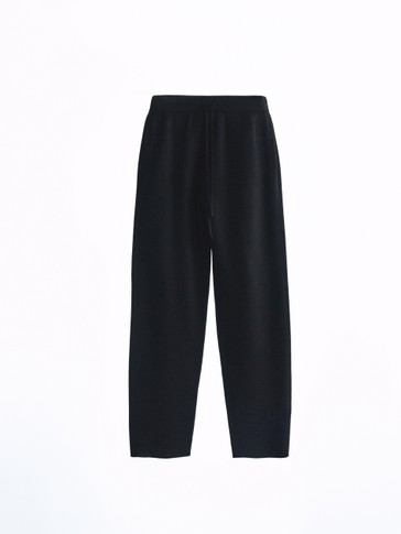 Pantalon cigarette jogging ensemble