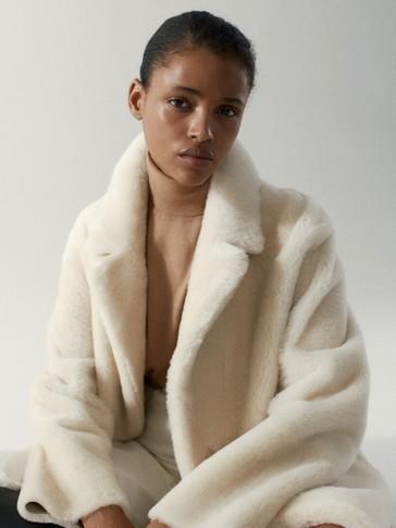 Wool/silk/cotton turtleneck sweater
