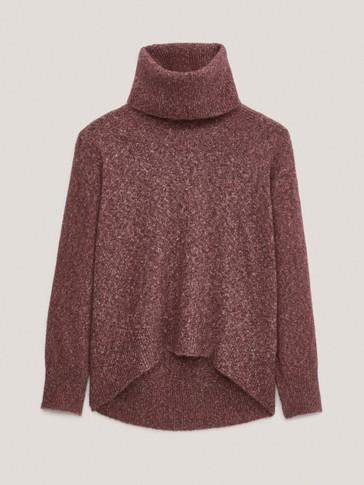 Jersey cuello desbocado