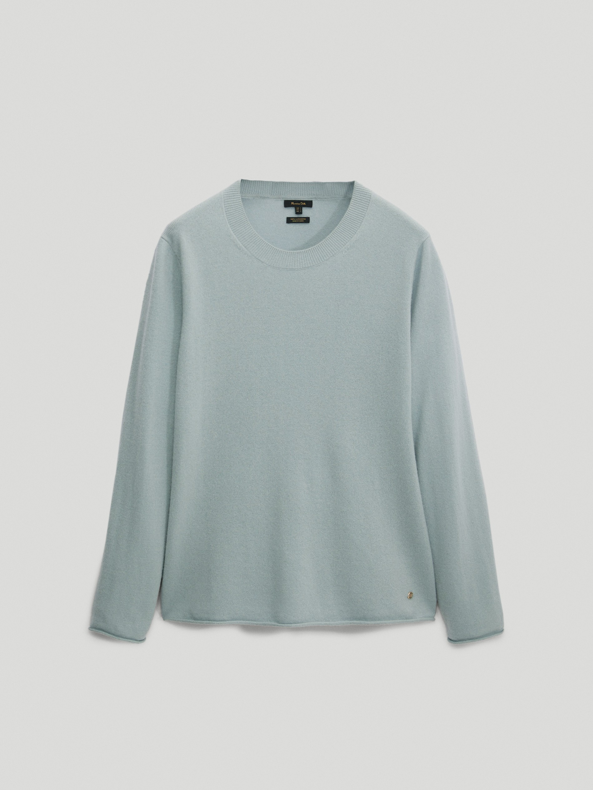 100% cashmere crew neck sweater by Massimo Dutti, available on massimodutti.com for EUR12900 Kate Middleton Top Exact Product