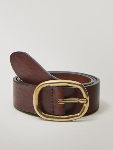 حزام من الجلد