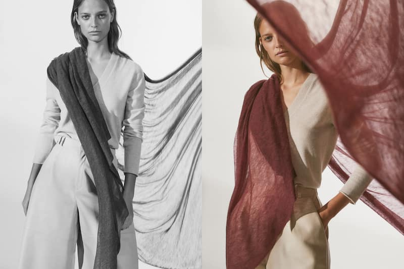 desconocido Adquisición compañera de clases  Foulards pour femme | Massimo Dutti Automne-Hiver 2020