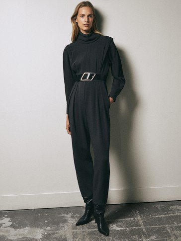 Limited Edition wool jumpsuit
