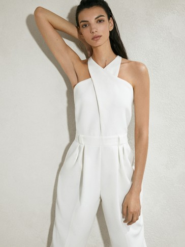 LIMITED EDITION JUMPSUIT WITH CRISS-CROSS STRAPS