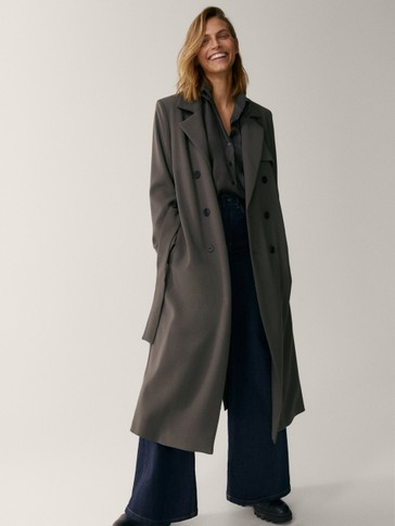 LIMITED EDITION TRENCH COAT WITH BELT