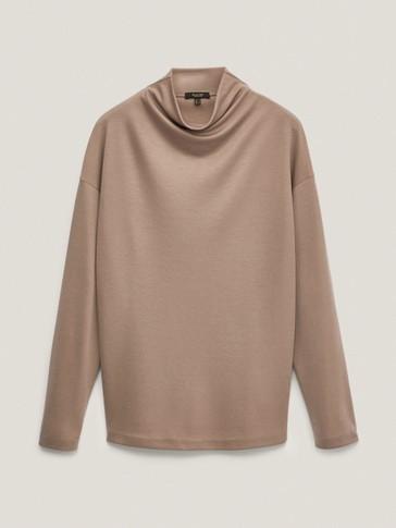 Lyocell sweatshirt