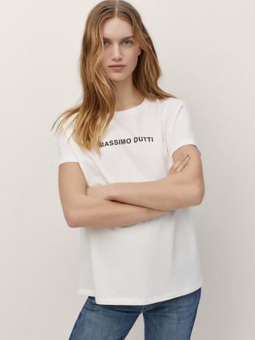 Camiseta algodón Massimo Dutti
