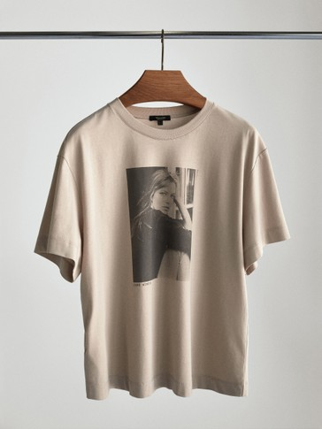 Jane Birkin photo t-shirt