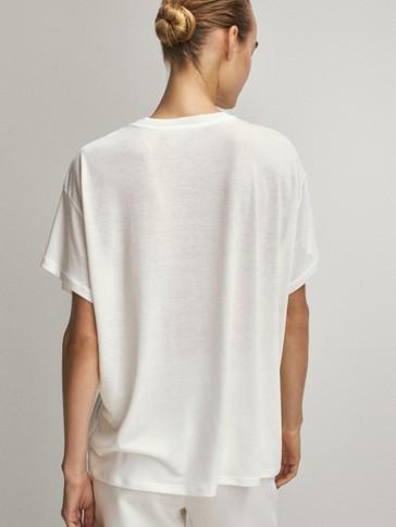 Camiseta foto lyocell algodón