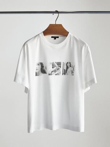 제인 버킨 포토 티셔츠