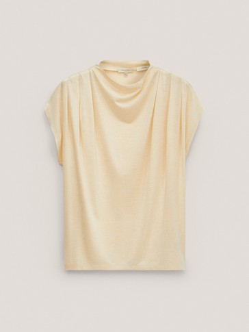 Limited Edition 100% silk T-shirt