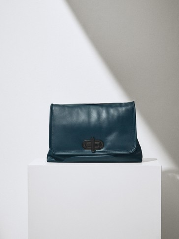 Limited Edition leather pouch bag