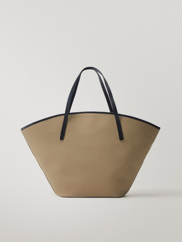 Bolso shopper canvas