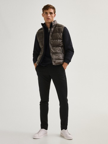 100% wool washable Limited Edition jogging fit trousers