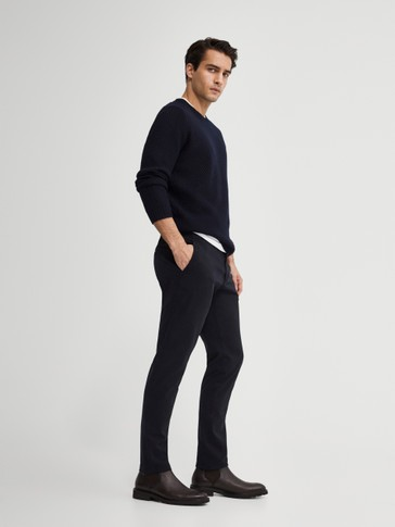 Pantaloni chino extra slim fit