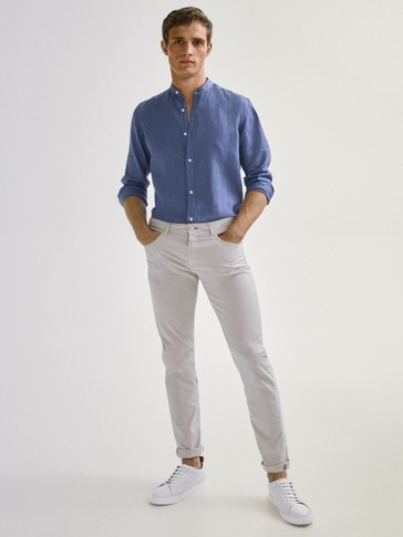PANTALONI TIPO DENIM SLIM FIT