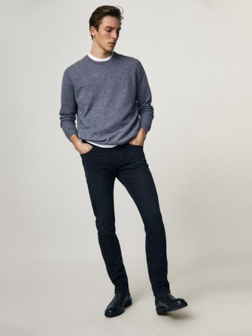 Jeans in felpa slim fit