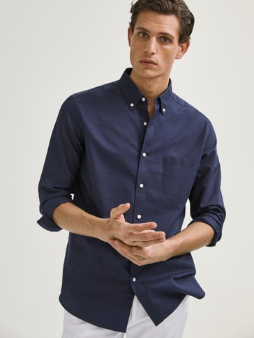 CAMISA ALGODÓN OXFORD REGULAR FIT