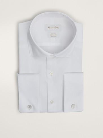 قميص من قماش الهيرينغبون سهل الكي بتصميم شخصي