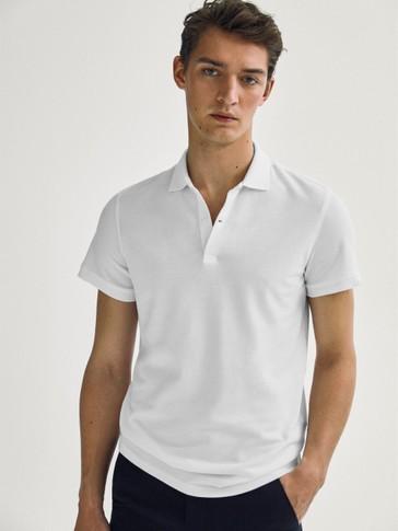 قميص بولو بأكمام قصيرة