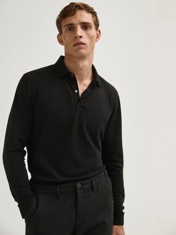 Pikē 100% kokvilnas polo krekls