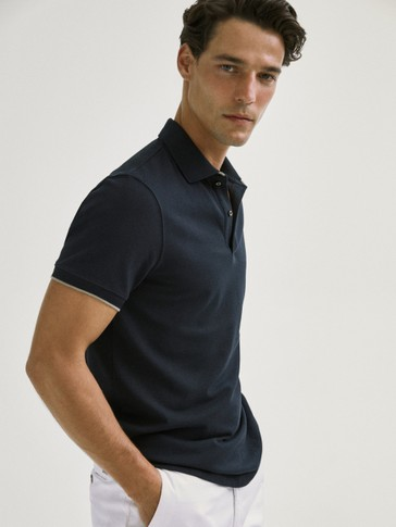POLO CONTRAST DOBLE COLL