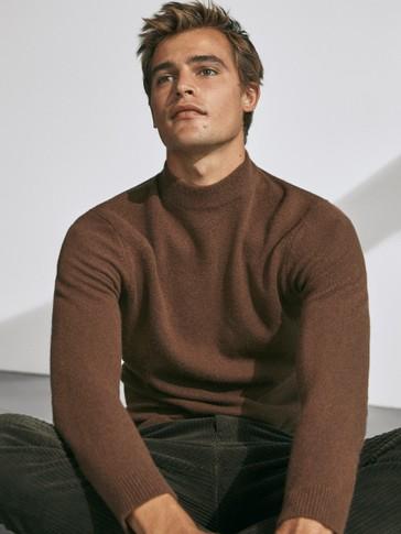 Jersey cuello perkins lana cashmere
