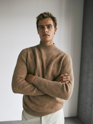 Limited Edition wool high neck sweater