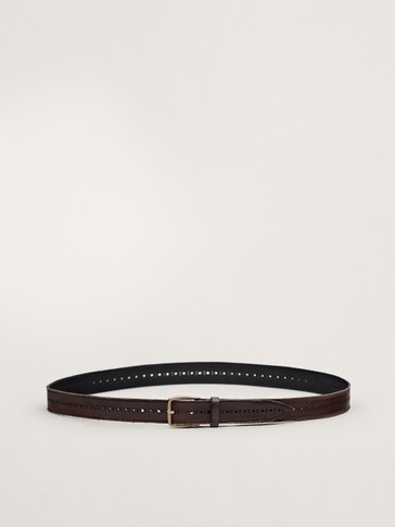 LIMITED EDITION EMBOSSED FADED BELT