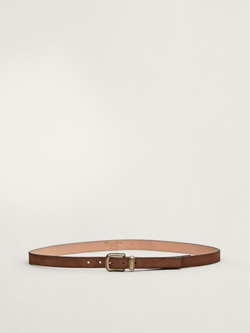 LIMITED EDITION SPLIT SUEDE BELT