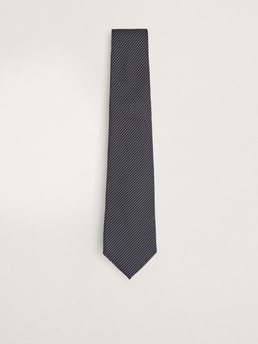 100% SILK TWO-TONE TIE