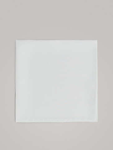 SMART PLAIN 100% SILK POCKET SQUARE
