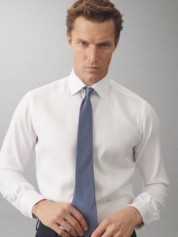 100% silk print tie