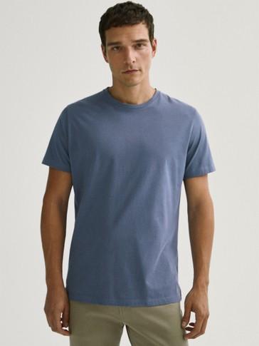 T-shirt en pur coton à manches courtes