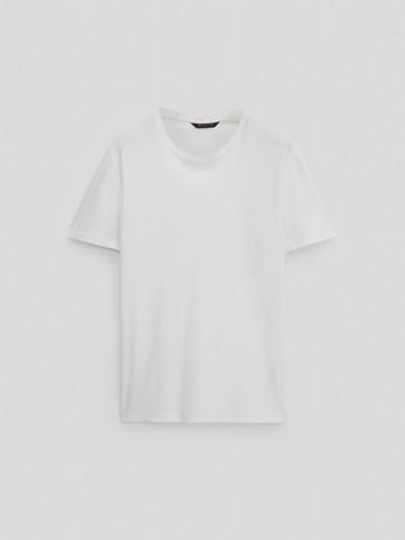 Maglietta a maniche corte 100% cotone