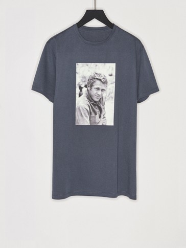 T-shirt avec photo Steve McQueen