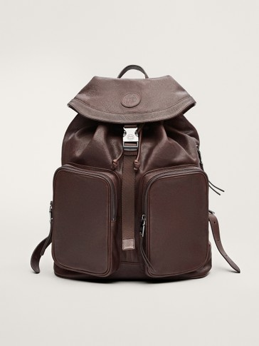 LIMITED EDITION FADED LEATHER BACKPACK